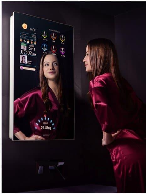 le miroir connect le nouveau jouet des enseignes de. Black Bedroom Furniture Sets. Home Design Ideas