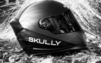 Skully Helmet, des objets connectés pour les motards.