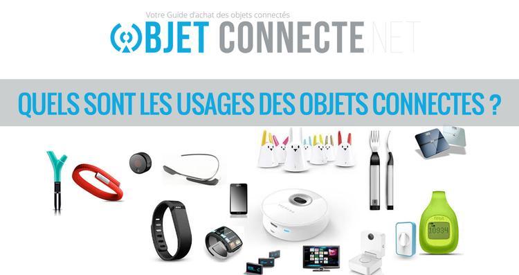 Les diff rents usages des objets connect s - Objets connectes maison ...