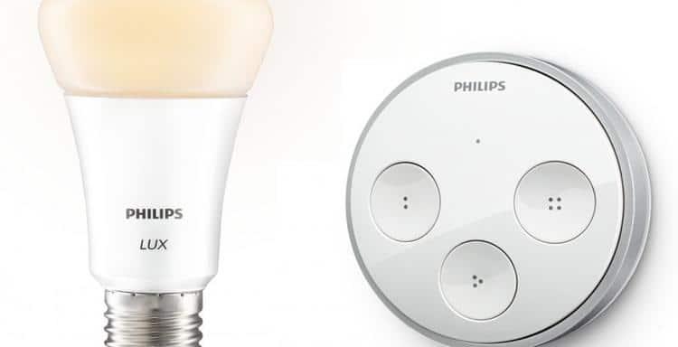 L 39 ampoules connect e hue lux de philips - Ampoule connectee philips ...