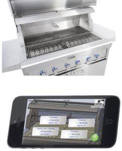 smart grill lynx barbecue connecte