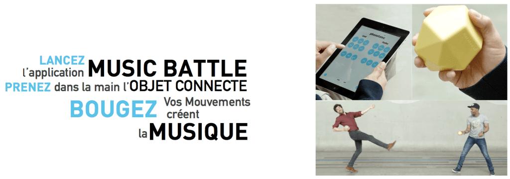 interactive music battle