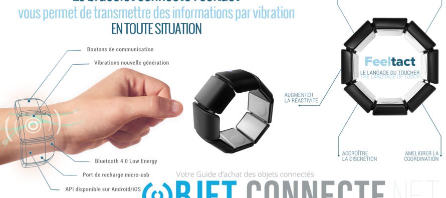 Feeltact : le bracelet connecté qui va vous faire vibrer