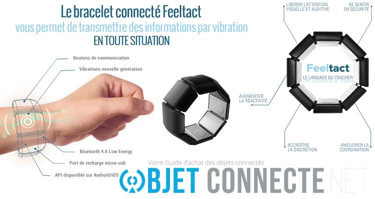 bracelet connecte feeltact
