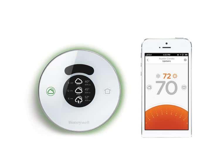 honeywell lyric thermostat connecté