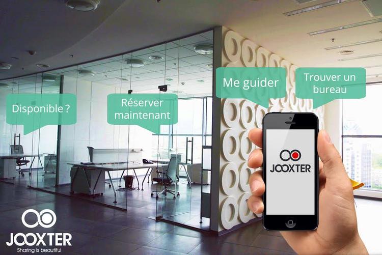 Jooxter - espace de travail connecté