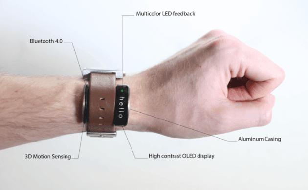Glance un objet connect pour transformer votre montre - Objets recuperes et transformes ...