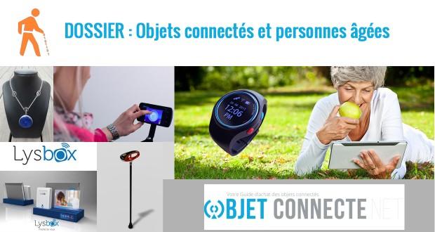 objets connectes personnes agees seniors