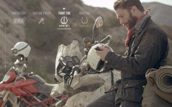 L'équipement moto devient connecté