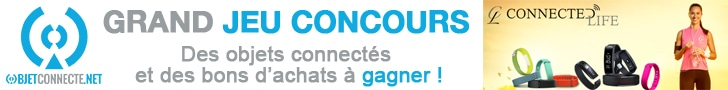 jeu concours connected life