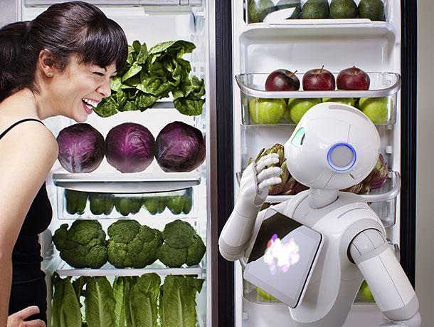 pepper robot compagnon