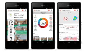 smart tennis sensor app