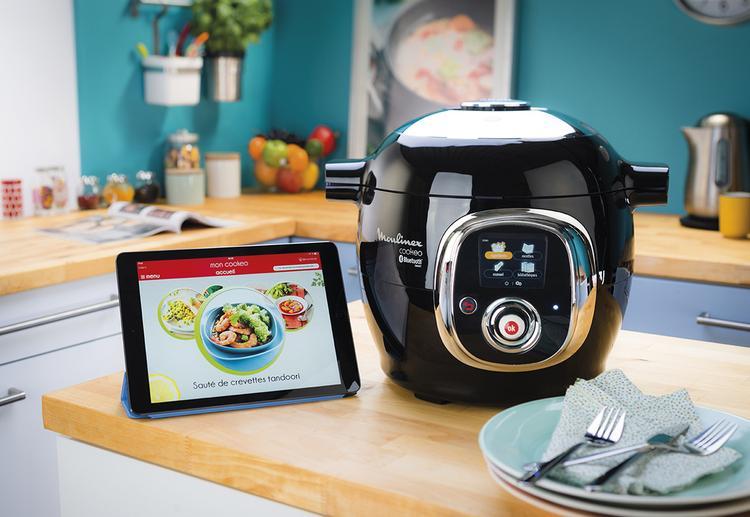 cuisinez connect avec cookeo connect de seb. Black Bedroom Furniture Sets. Home Design Ideas
