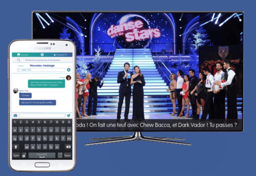 TV connectée sociale up tv