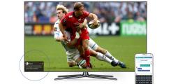 La social TV connectée UpTV ou comment participer à une soirée foot entre amis, de chez soi !
