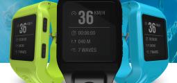 Glassy pro, la montre connectée des surfers