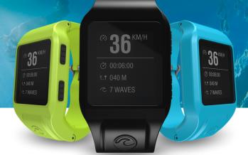 Glassy pro, la montre connectée des surfeurs