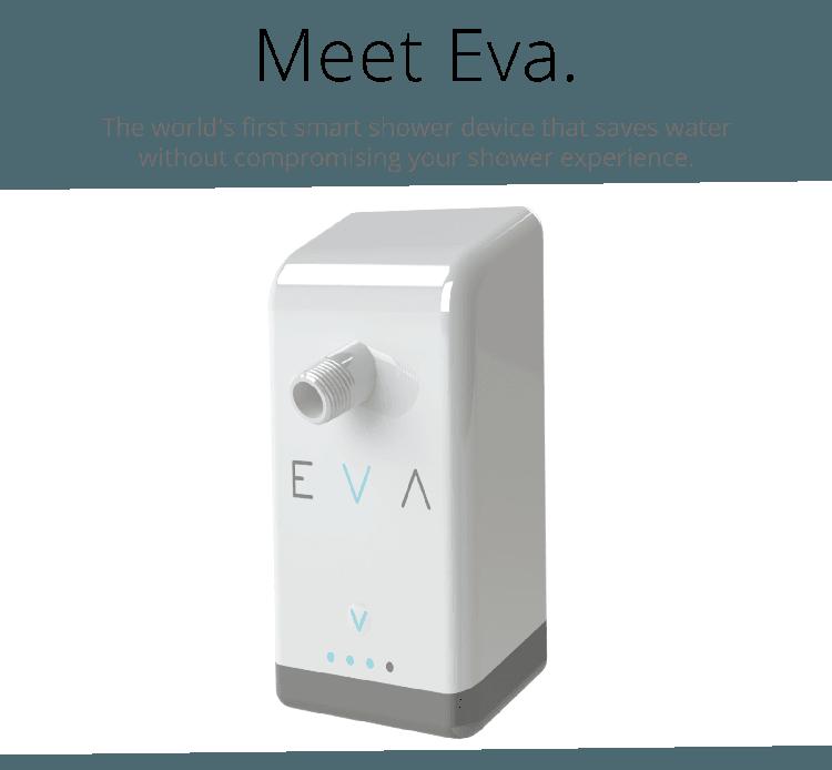 Eva la douche connect e pour r duire sa consommation d eau - Consommation moyenne d eau pour une douche ...
