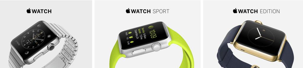 Montres connectées Apple Watch