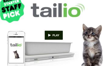 Tailio, une litière connectée pour prévenir les problèmes de santé de votre chat