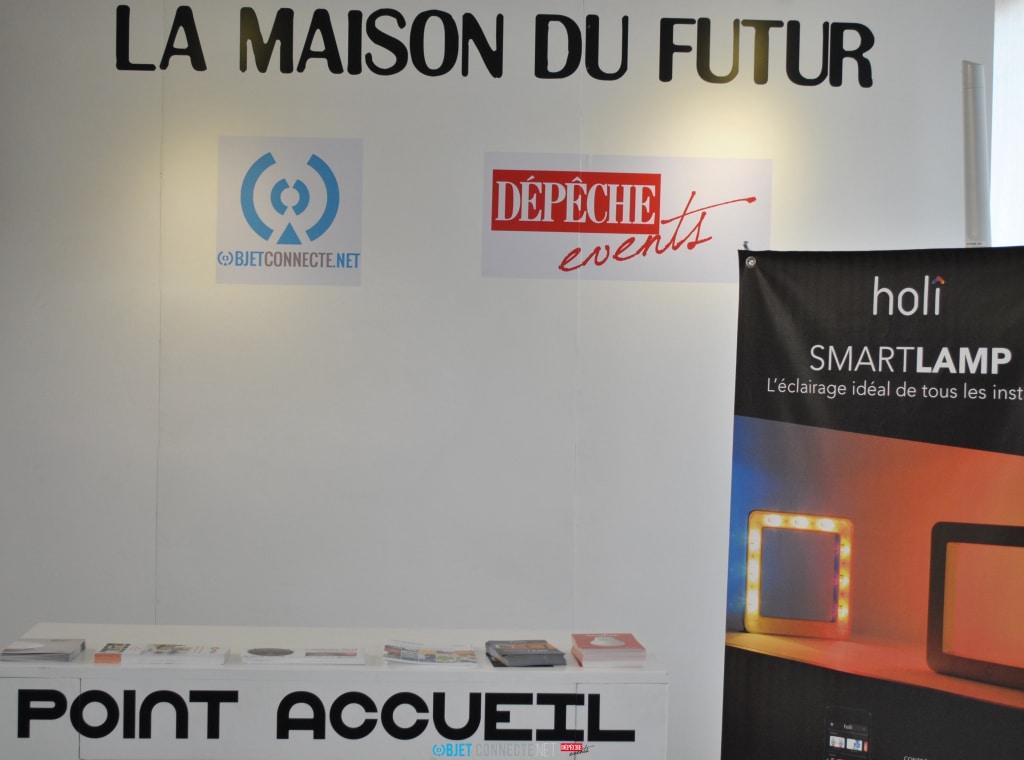 Point accueil Objetconnecte.net - Maison du Futur