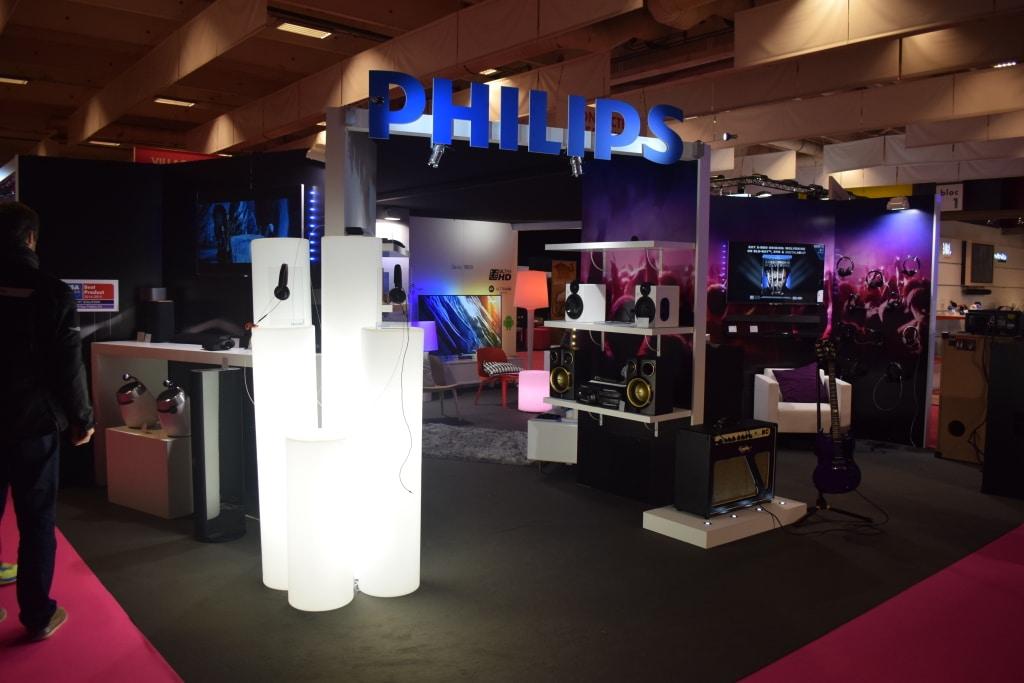 Stand PHILIPS Paris 2014