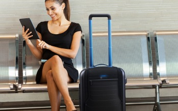 Bluesmart, une valise connectée et intelligente