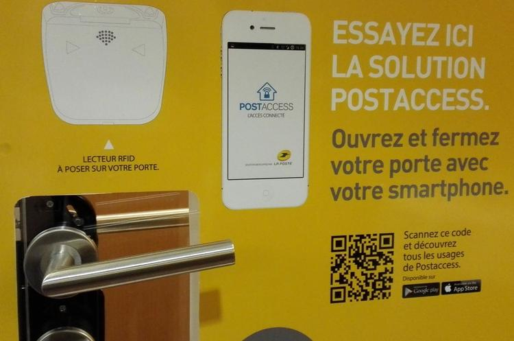 la poste postaccess - serrure connectée