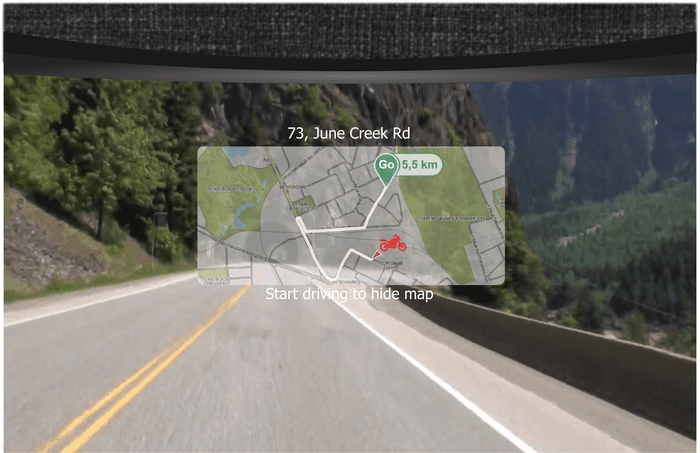motorbike helmet livemap 1
