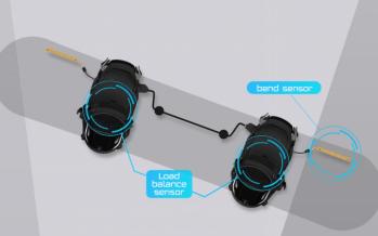 [CES 2015] CEREVO : XON Snow -1, la fixation de snowboard connectée