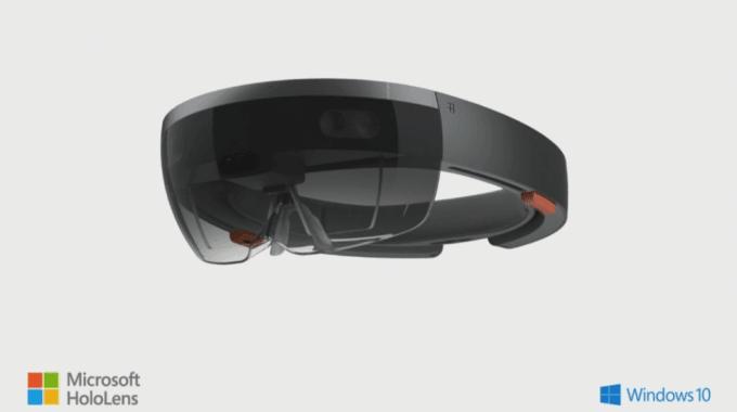 hololens casque holographique