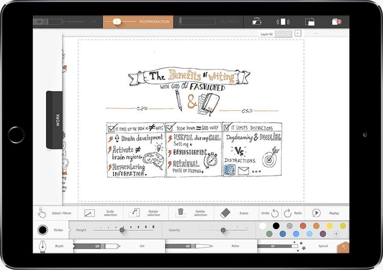 iSketchnote ipad-air2-app2