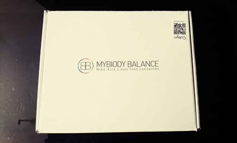 mybiody balance boite dessus vue