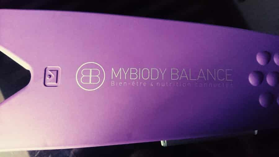 mybiody balance vue dessus appareil