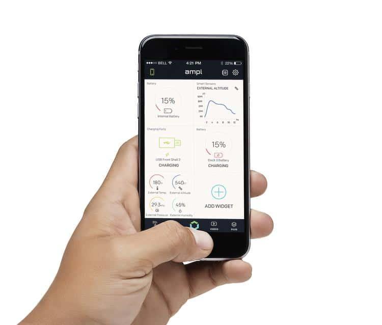 L'application de SmartBag