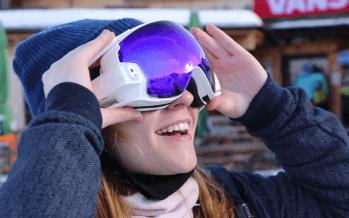 Les lunettes RideOn, le nouveau masque de ski connecté