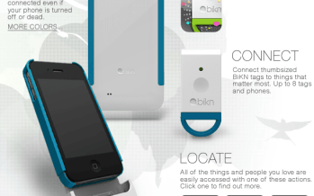 BiKN, la coque connectée pour iPhone retrouve vos objets