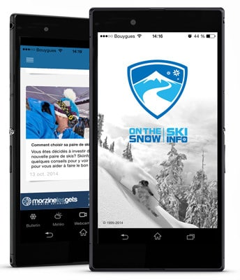 Application Skiinfo