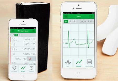 Qardiocore envoit les informations sur votre coeur à votre smartphone