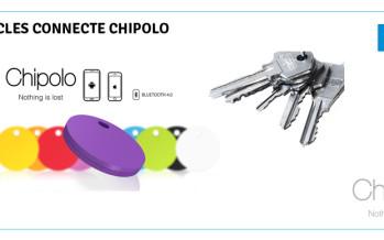 Test Chipolo un porte-clé connecté qui remplit ses promesses !