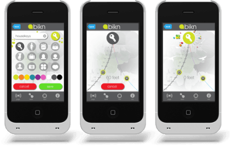 BiKN est une coque connectée pour iPhone qui localise vos objets