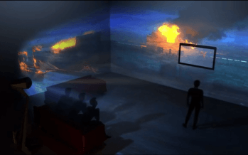 Immersis : la projection sur mur à 180° dans votre salon