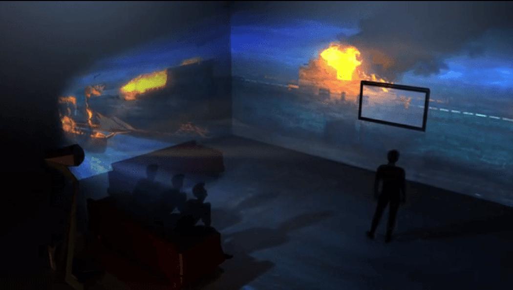immersis la projection sur mur 180 dans votre salon