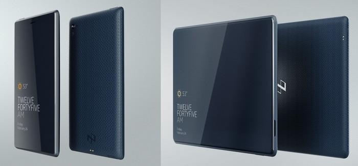 écran de poche et tablette
