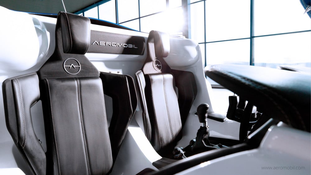 aeromobil la voiture volante connect e d s 2017. Black Bedroom Furniture Sets. Home Design Ideas