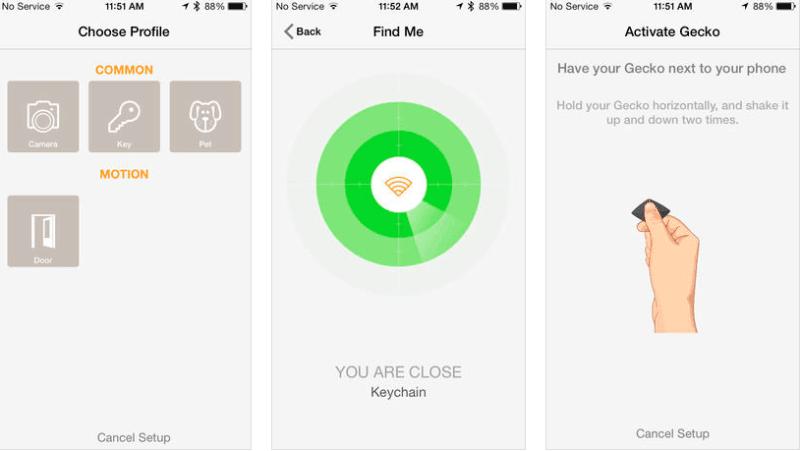 Gecko rend votre smartphone intelligent grâce à des gestes