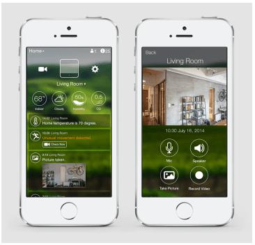 Sentri iPhone application