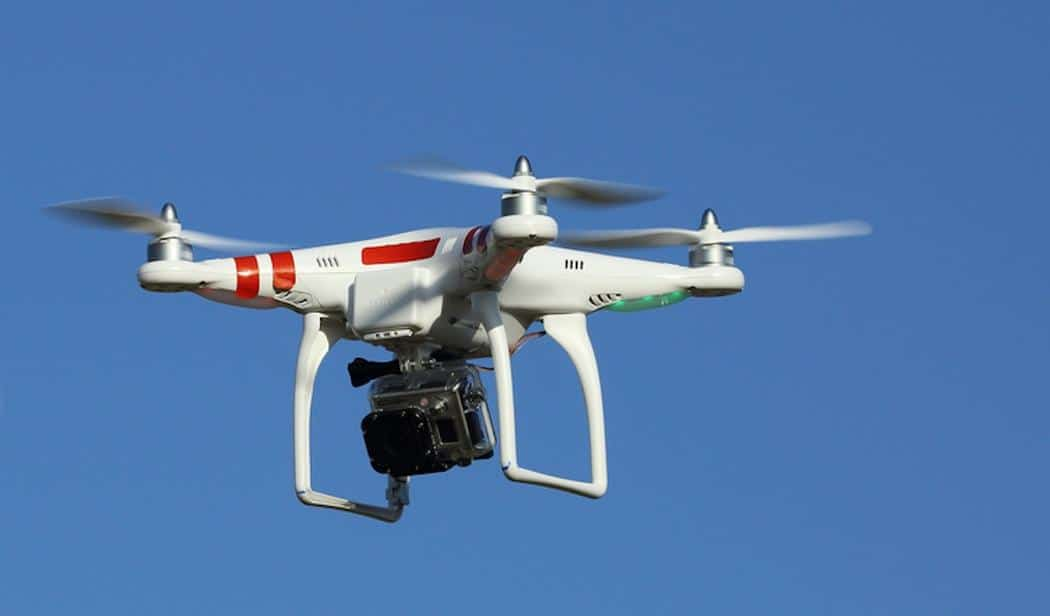 Drone survol paris