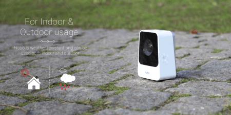 La Nubo, caméra connectée fonctionne avec une connexion 4G