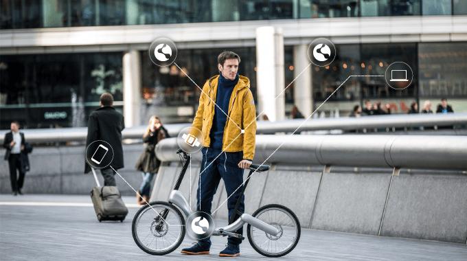 JIVR Bike vélo connecté